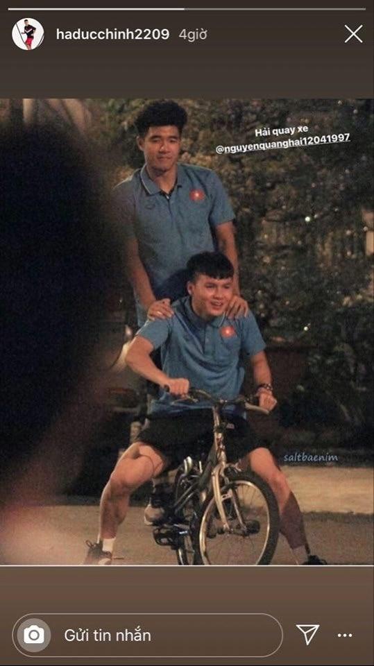 Cười ngất với loạt ảnh chế của Quang Hải thành Hải... quay xe