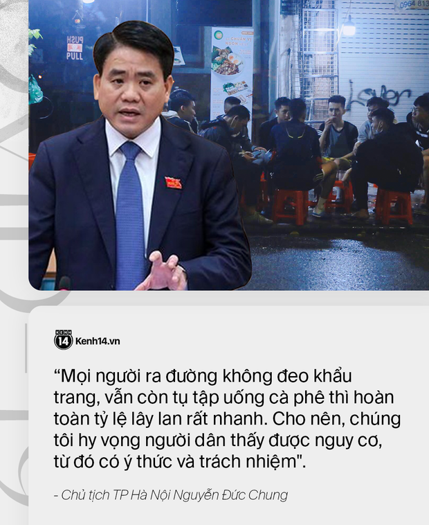"""Chủ tịch HN: """"Cửa an toàn đang khép lại, nhưng vẫn còn cơ hội nếu người dân đồng lòng thực hiện nghiêm túc cách ly, ở nhà để không cho điều kiện dịch bệnh lây lan"""""""