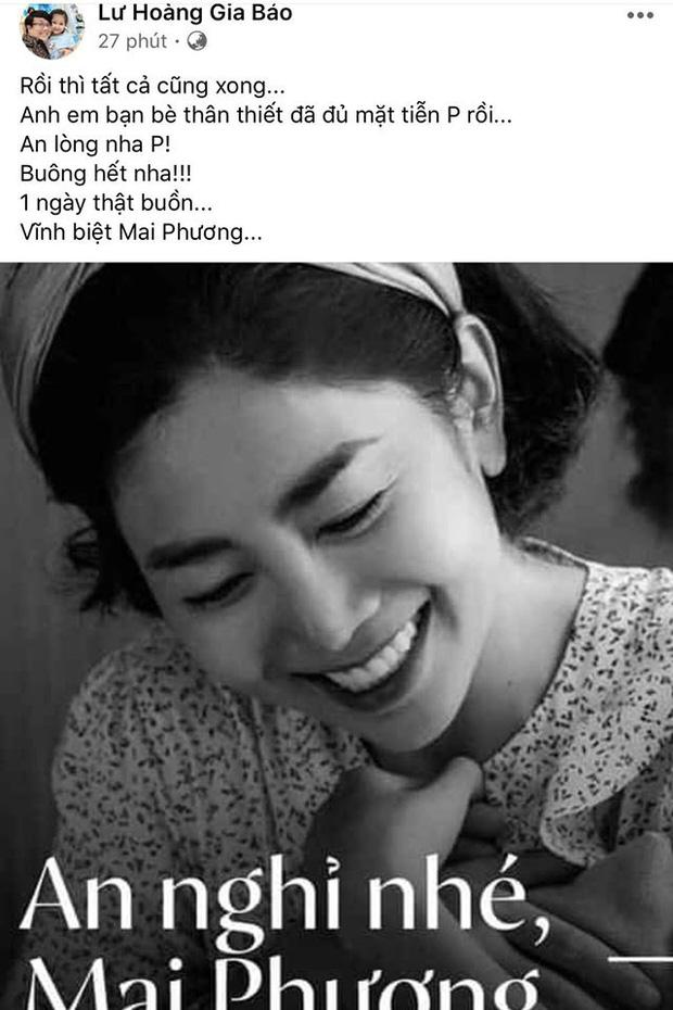 Bạn bè đồng loạt chia sẻ khoảnh khắc vĩnh biệt cố nghệ sĩ Mai Phương: An nghỉ nhé, một chiến binh dũng cảm!