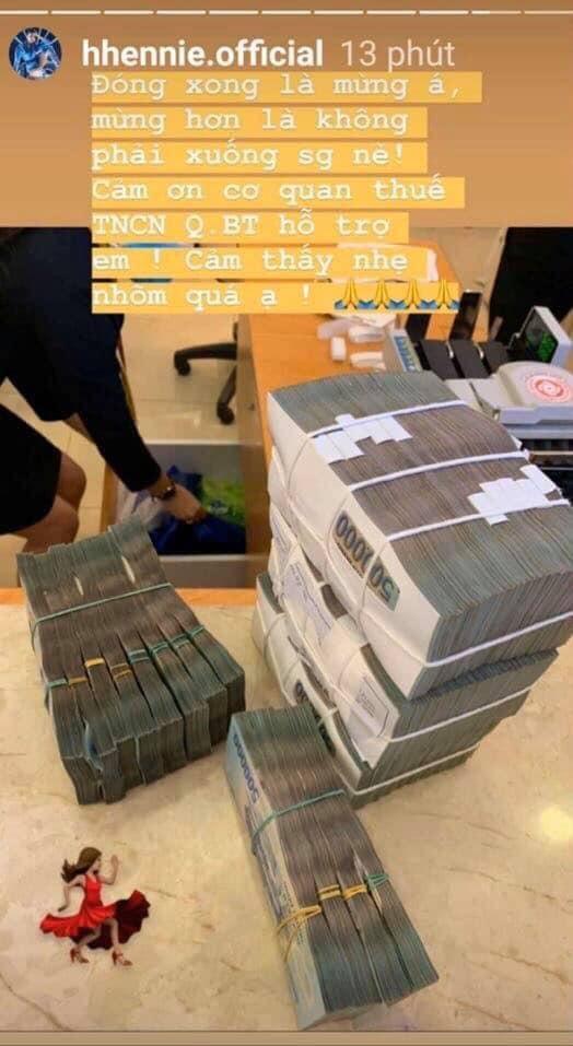 HHen Niê công khai đóng thuế 2,2 tỷ, dân mạng nhanh chóng tính ra thu nhập khủng của nàng Hậu