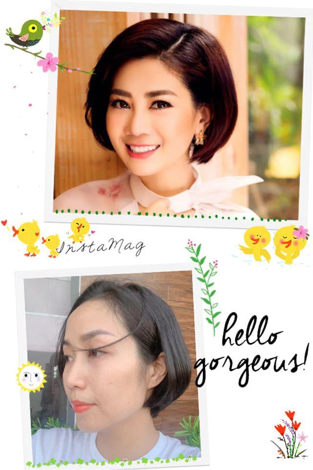Ốc Thanh Vân cắt tóc giống Mai Phương, nghẹn ngào chia sẻ lời hẹn cũ với người em quá cố