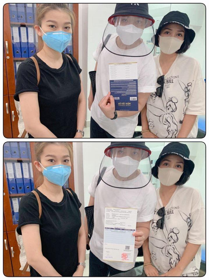 Ốc Thanh Vân và Trấn Thành hoàn tất sổ tiết kiệm cho con gái Mai Phương