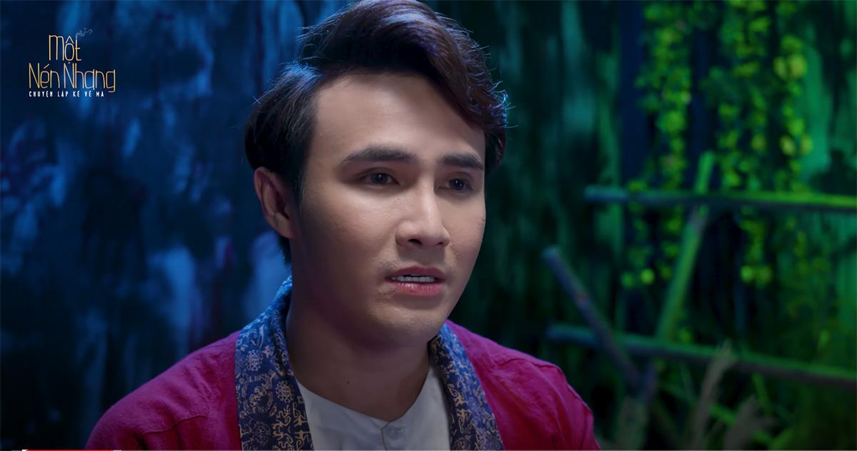 """Huỳnh Lập trả lời câu hỏi trending """"Chú bán ếch ở lại làm chi?"""" trong series truyện ma Một nén nhang"""