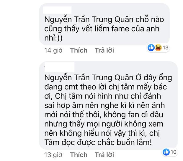 Mỹ Tâm livestream hát hò, Nguyễn Trần Trung Quân vào để lại bình luận kém duyên khiến khán giả phẫn nộ