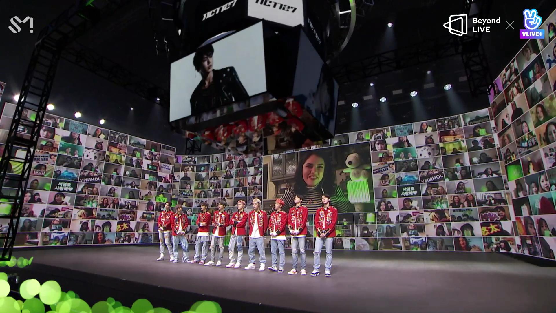 Chơi lớn như NCT 127: Đưa rồng lên sân khấu, diễn luôn bài hát chưa phát hành trong Online Concert