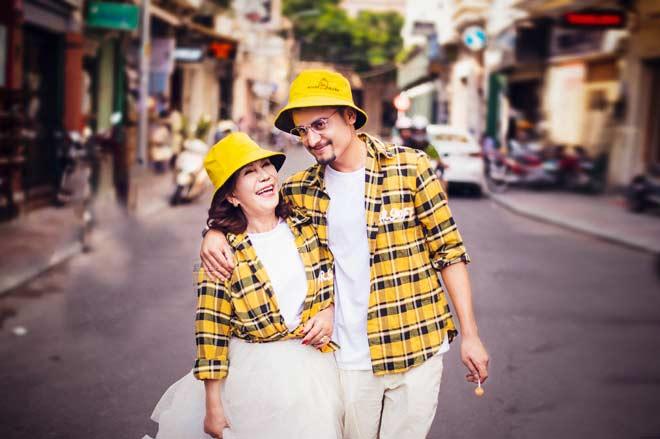 Cô dâu 65 tuổi khoe bộ ảnh cưới cùng chồng ngoại quốc 24 tuổi