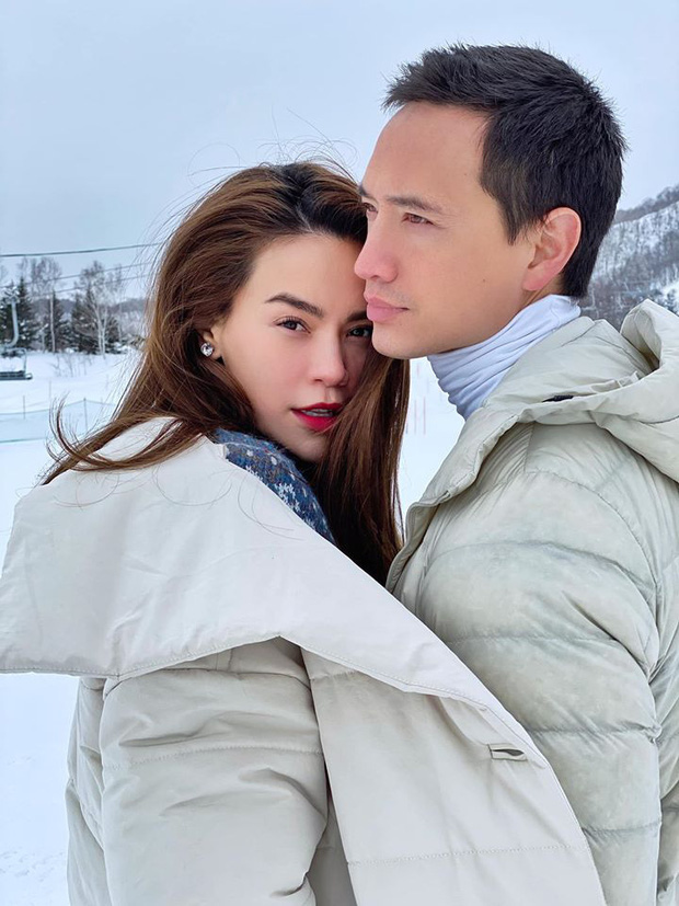 Giữa tin đồn mang thai, Hồ Ngọc Hà lần đầu tiên xuất hiện cùng người yêu trong tấm ảnh đáng chú ý này