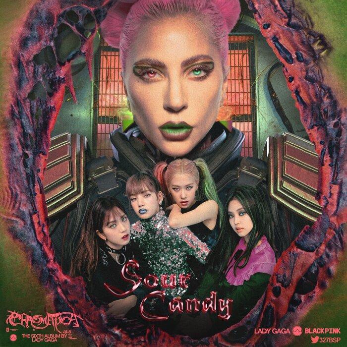 Choáng với loạt thành tích khủng của Sour Candy (Lady Gaga & BLACKPINK) sau nửa ngày phát hành