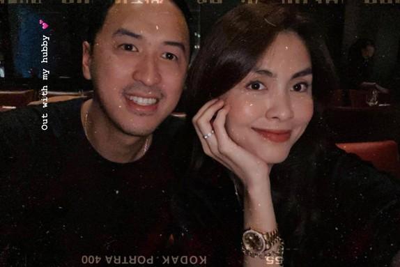 Tăng Thanh Hà hiếm hoi chia sẻ khoảnh khắc hạnh phúc bên ông xã Louis Nguyễn