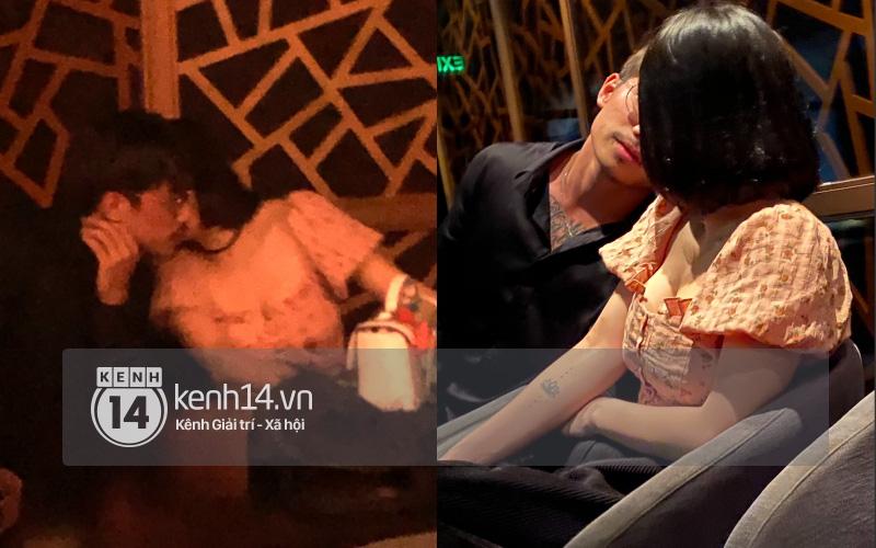 Hậu chia tay Quang Đăng, Thái Trinh bị bắt gặp đang khóa môi trai lạ