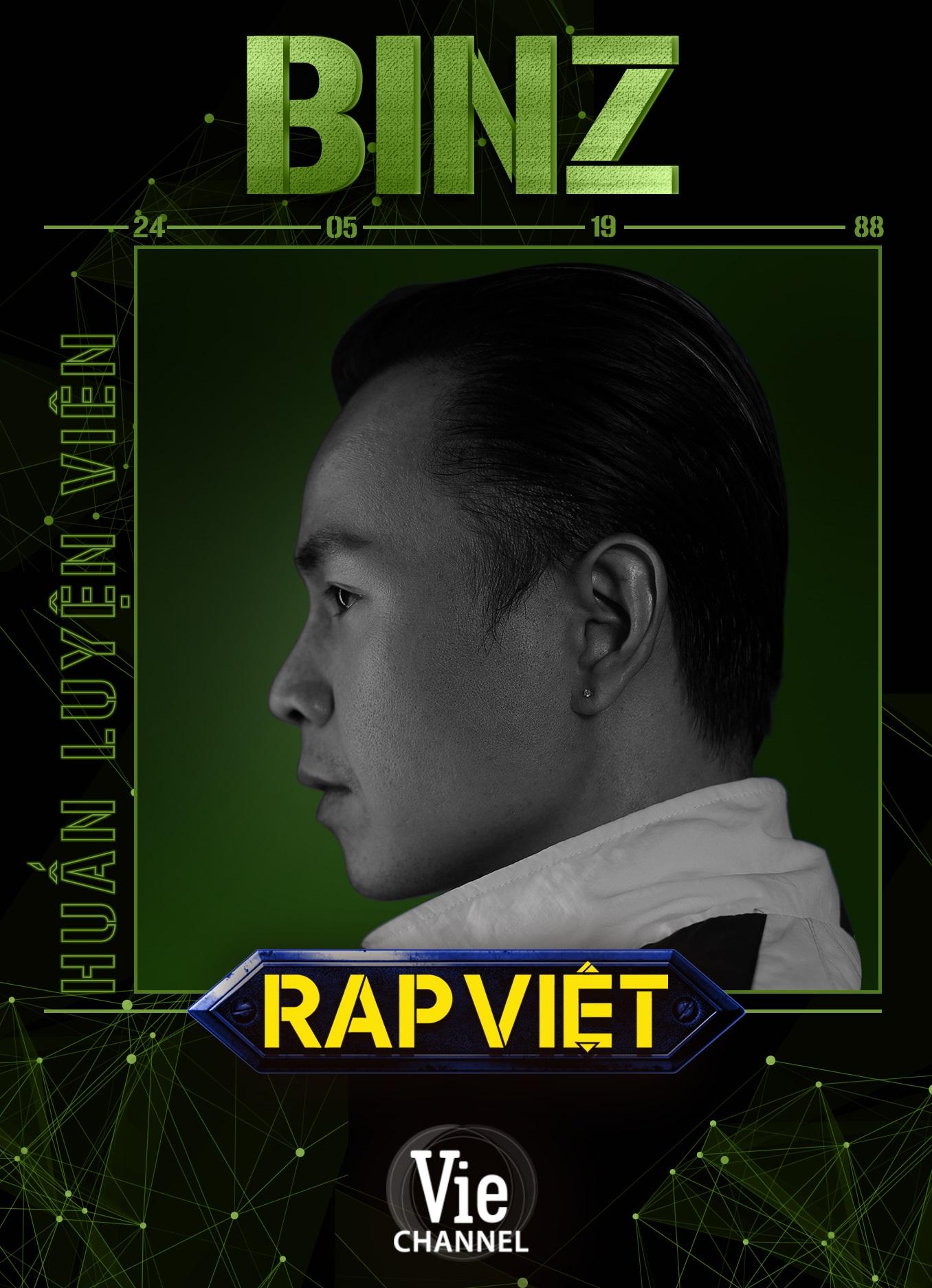 Touliver cùng Binz, Rhymastic, Wowy, Karik, JustaTee quy tụ truy tìm thế hệ rapper tài năng mới cho làng rap