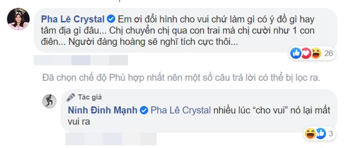 Đinh Mạnh Ninh chỉ trích trend chuyển giới, Pha Lê liền lên tiếng phản bác