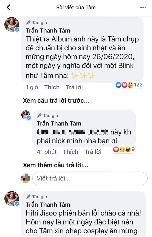 Mừng BLACKPINK comeback, Trần Thanh Tâm tung tạo hình cosplay Jisoo