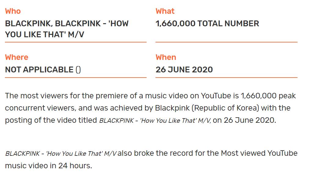 Đỉnh như BLACKPINK: Xác lập một lúc 5 kỷ lục Guinness thế giới với How You Like That