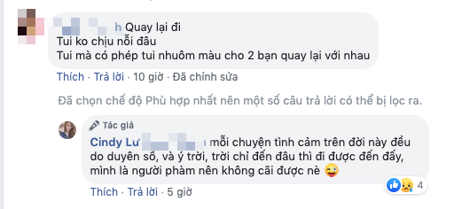 Bảo Ngọc nói gì khi được CDM khuyên quay lại với chồng cũ Hoài Lâm?