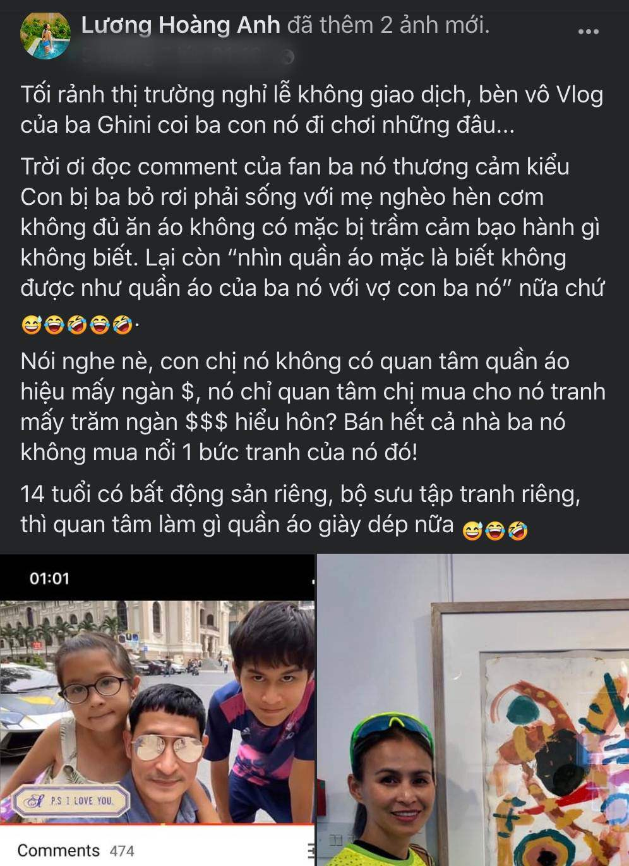 Vợ cũ của Huy Khánh đá đểu: Bán hết nhà anh ta không mua nổi 1 bức tranh cho con trai