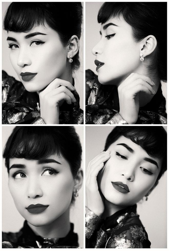 Chụp ảnh phong cách retro, Hòa Minzy hóa quý cô Sài Gòn cá tính khiến CDM mê như điếu đổ