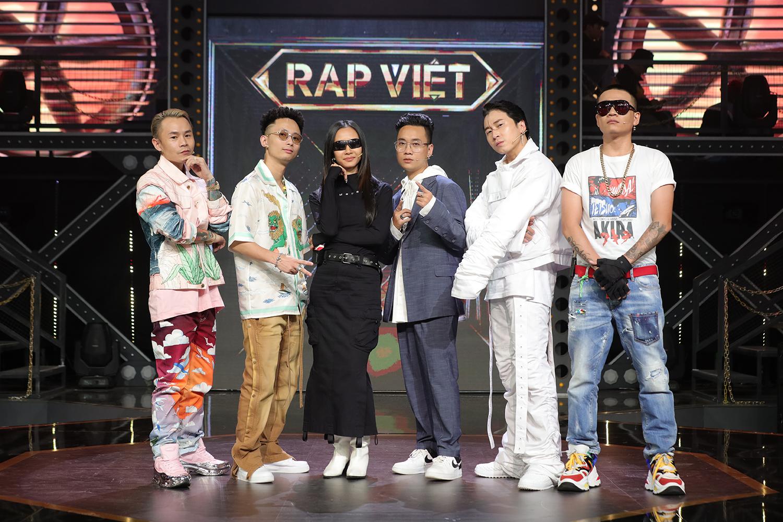 """Siêu hot: Suboi bất ngờ xuất hiện """"căng đét"""" trong bộ 6 quyền lực Rap Việt: Rhymastic, JustaTee, Binz, Wowy, Karik"""
