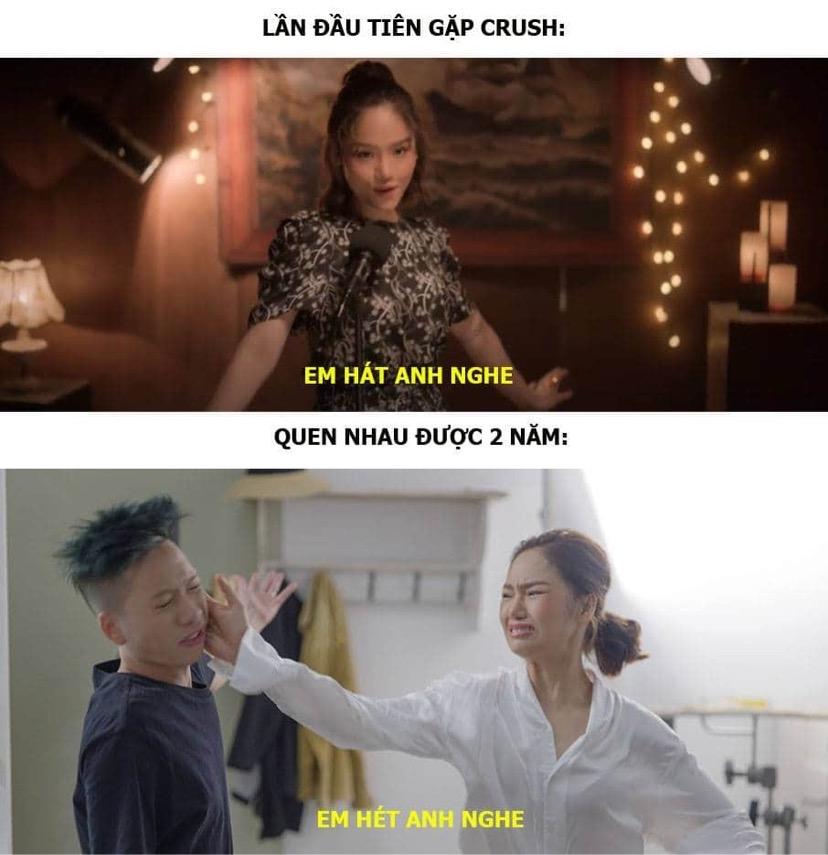 Sự thật đằng sau cái tát trời giáng của Miu Lê dành cho thành viên Da LAB trong MV Gác Lại Âu Lo