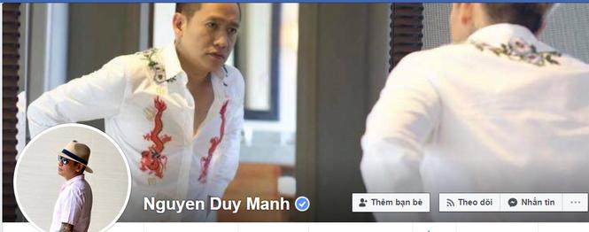 Duy Mạnh chính thức lên tiếng sau khi Bộ TT&TT yêu cầu làm rõ những phát ngôn lệch lạc về chủ quyền trên Facebook, thừa nhận tài khoản là của mình