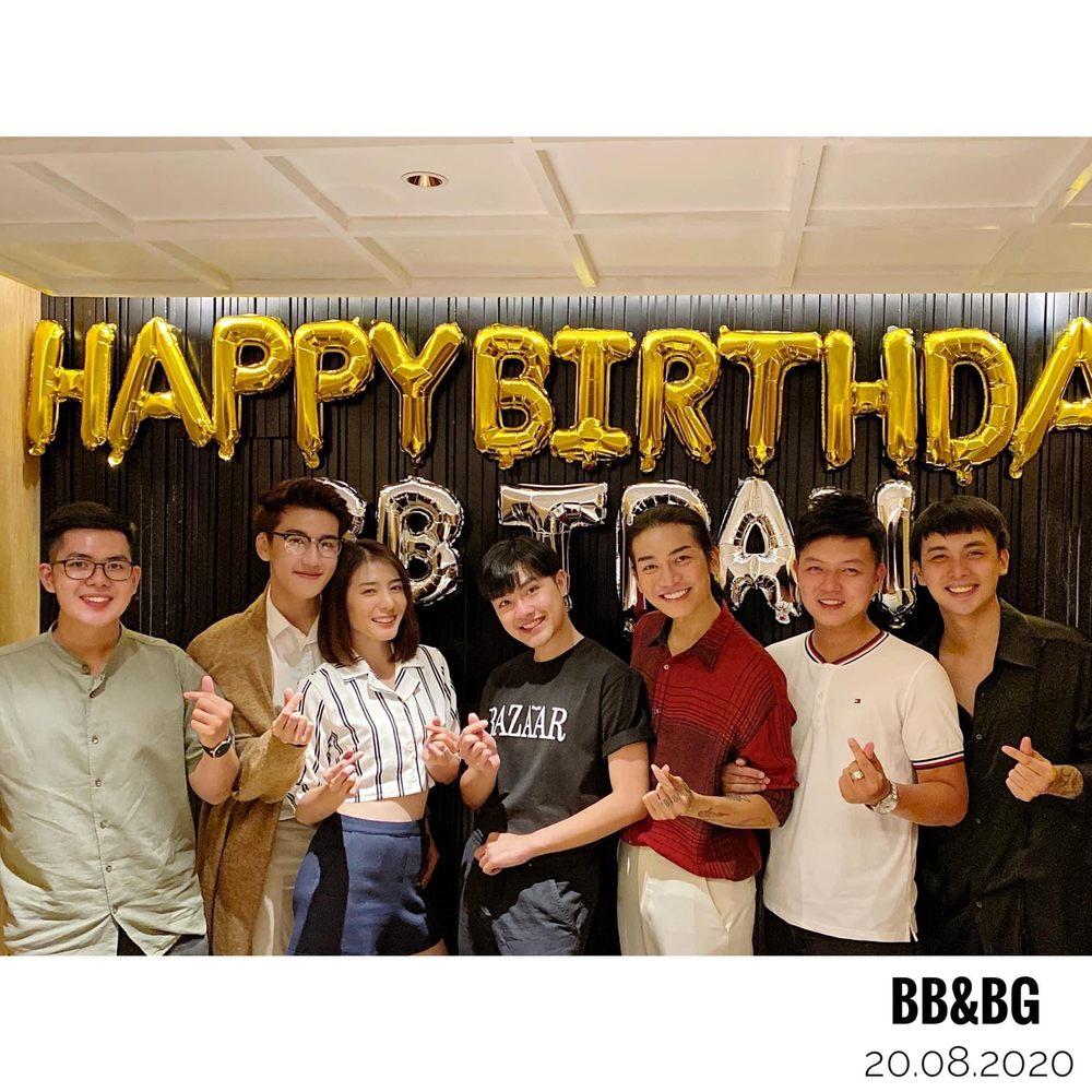 Fan bất ngờ trước màn hội tụ của các thành viên BB&BG dịp sinh nhật BB Trần