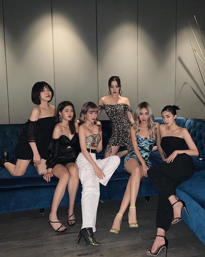 Vắng Quỳnh Anh Shyn, hội bạn của Chi Pu kết nạp thành viên mới cũng là mỹ nhân trong showbiz