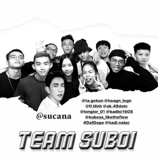 Bộ ảnh của team Suboi cuối cùng cũng được hé lộ bởi thành viên thứ 10 Sucana Diệu Nhi