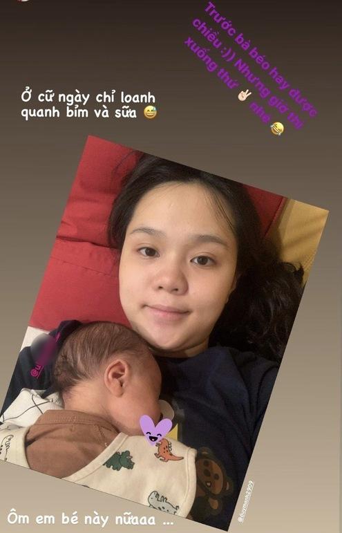 Duy Mạnh - Quỳnh Anh gây tranh cãi khi lập Instagram cho con trai vừa chào đời