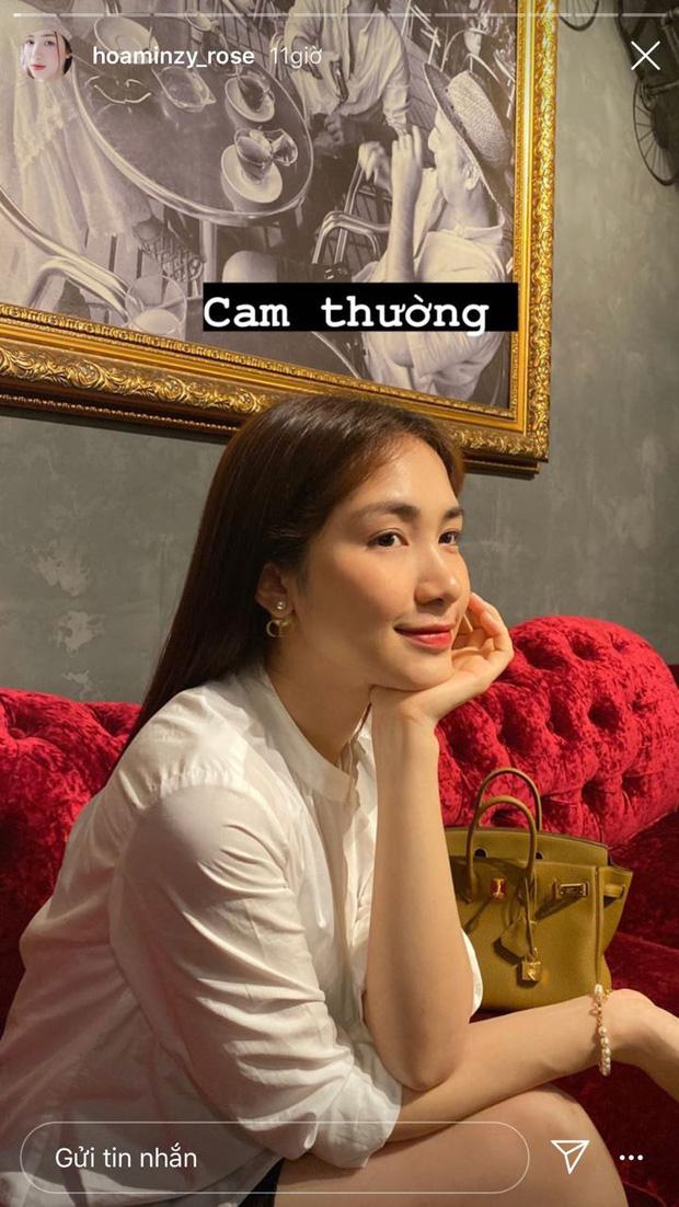 Hòa Minzy tự tin khoe nhan sắc qua camera thường, còn không ngại zoom cận cảnh