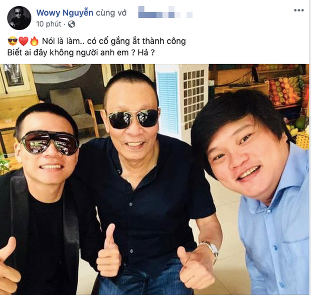 Ơn giời, cuối cùng rapper Wowy đã được gặp MC Lại Văn Sâm