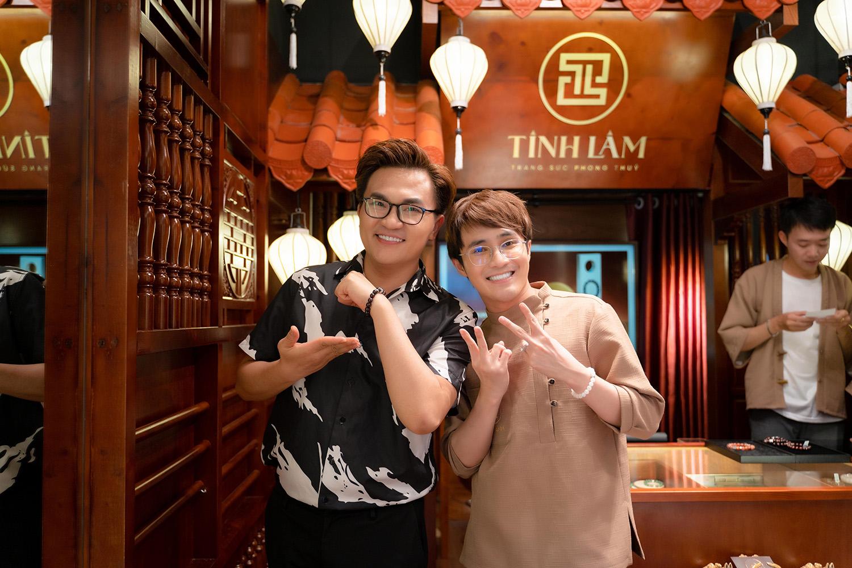 Huỳnh Lập lên chức ông chủ, dàn sao Vbiz khủng nườm nượp đến chúc mừng