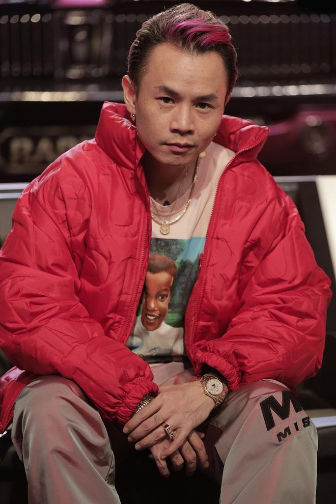 Cường Đô La bày tỏ lòng hâm mộ Binz, tiết lộ con gái mới sinh cũng rất yêu thích nam rapper