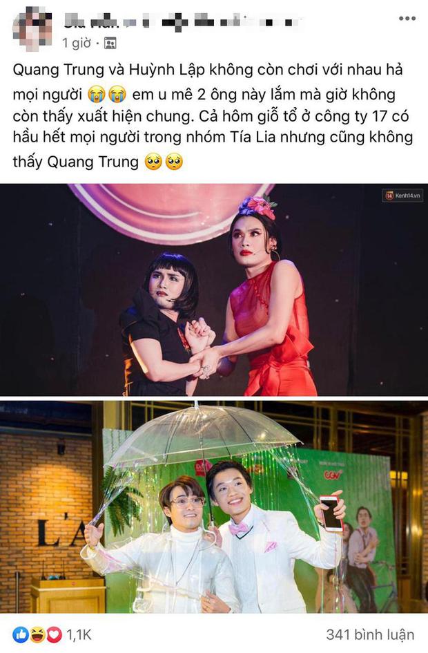 Nghi vấn Quang Trung và Huỳnh Lập nghỉ chơi, người trong cuộc chính thức lên tiếng nói rõ thực hư