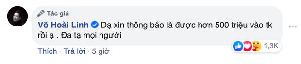 Danh hài Hoài Linh đáp trả thẳng thắn sau khi bị so sánh với Thuỷ Tiên chuyện kêu gọi ủng hộ miền Trung
