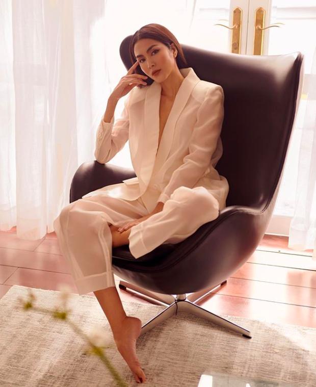 Khoe hình đẹp sương sương mừng sinh nhật tuổi mới, Tăng Thanh Hà khiến fan xuýt xoa với nhan sắc gái 2 con