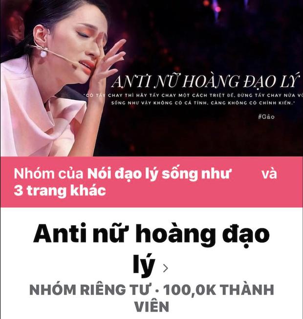 Group antifan của Hương Giang chạm mốc 100 nghìn người, nhãn hàng gỡ tên nàng Hậu ra khỏi list khách mời sự kiện?