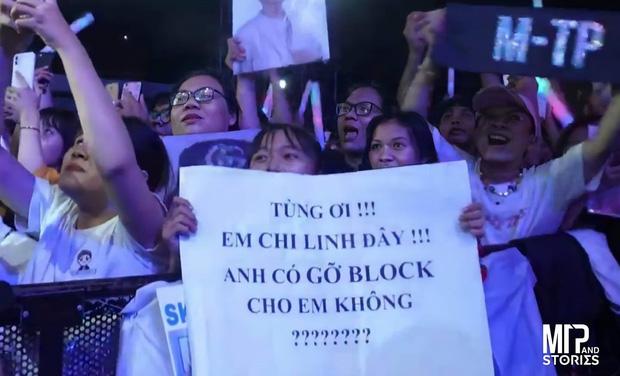 Lầy như Sky: đến tận sân khấu live của Sơn Tùng để ... kêu gọi Sếp gỡ block Facebook!