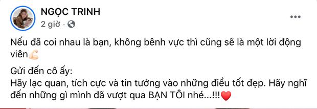 Dàn sao Vbiz nói gì khi Hương Giang gặp biến: Lâm Khánh Chi gửi lời khuyên sâu sắc, Hòa Minzy - Ngọc Trinh âm thầm động viên