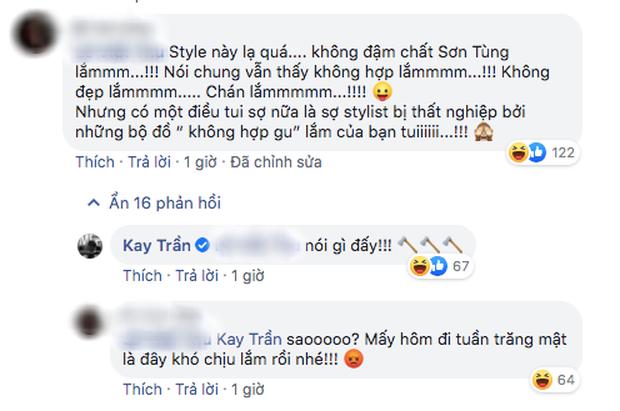 Kay Trần bênh vực Sơn Tùng M-TP khi phong cách mới bị trêu không phù hợp