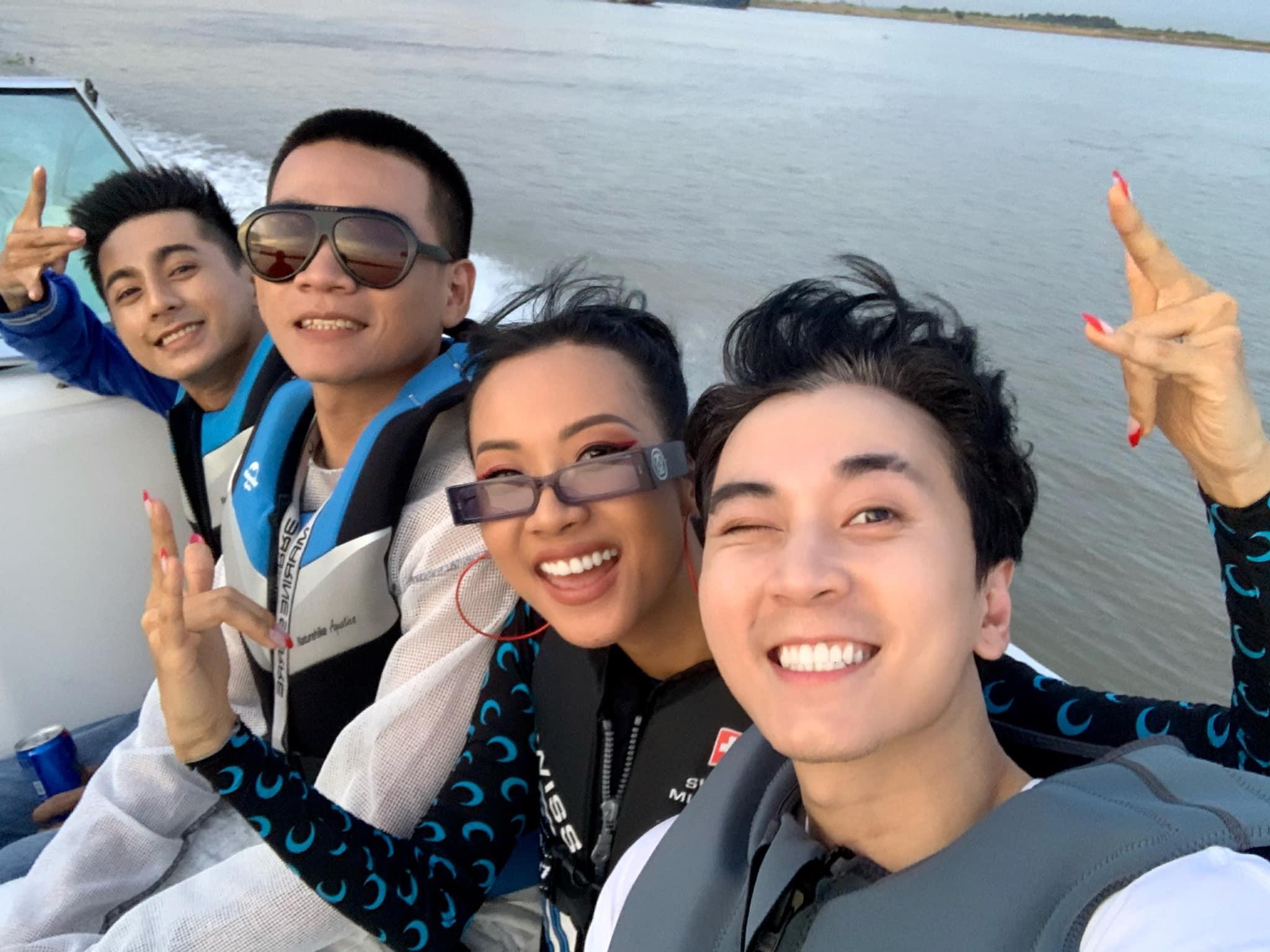 Bộ ba HLV Wowy, Karik, Suboi lần đầu tái hợp sau Chung kết Rap Việt