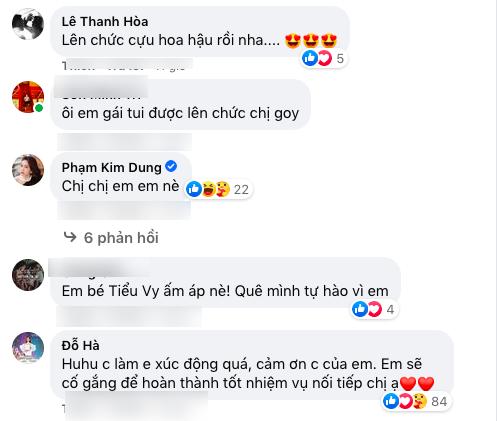 Tiểu Vy nhắn nhủ Tân Hoa hậu 2020 Đỗ Thị Hà trong thời khắc đăng quang