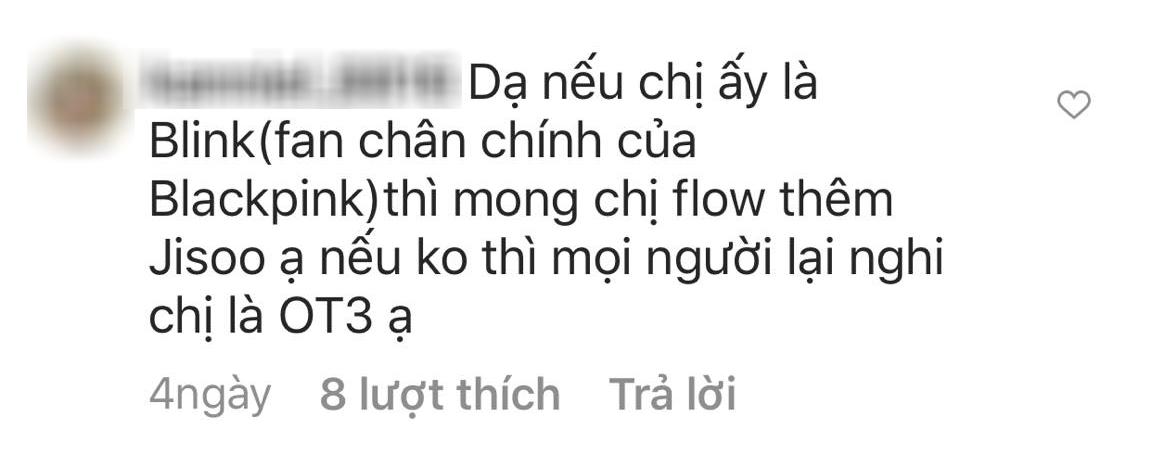 Hoa hậu Đỗ Thị Hà bị phàn nàn vì chỉ follow 3/4 thành viên BLACKPINK trên Instagram