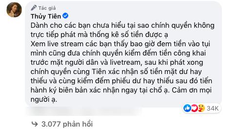 Bị phạt vì đăng tin vu khống liên quan hoạt động từ thiện của ca sĩ Thủy Tiên