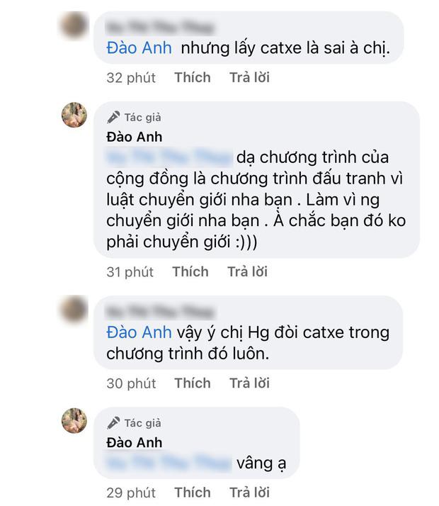Đào Anh tố Hương Giang hét giá cát xê 50 triệu khi được mời tham gia chương trình cho cộng đồng LGBT