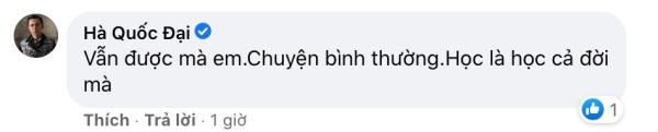 Hồng Quế được cả dàn sao Việt vào ủng hộ khi bày tỏ ý muốn đi học lại nhưng sợ bị chê cười