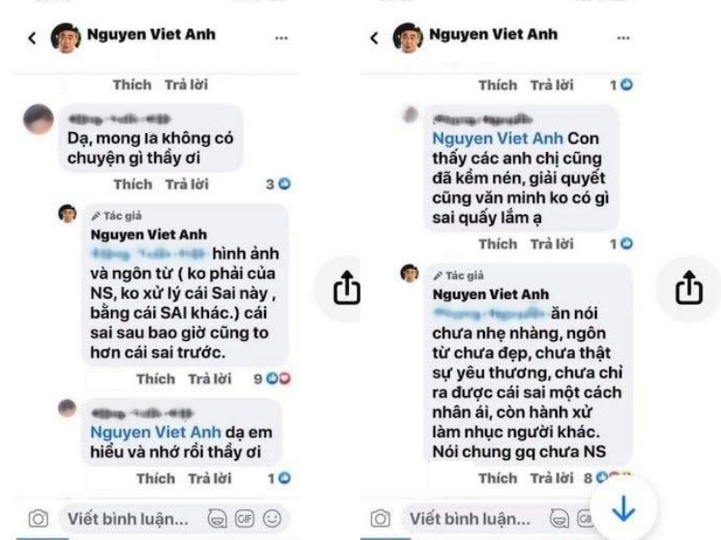 Cát Phượng chính thức xin lỗi NS Việt Anh sau lùm xùm phản pháo đàn anh bằng ngôn từ không phù hợp