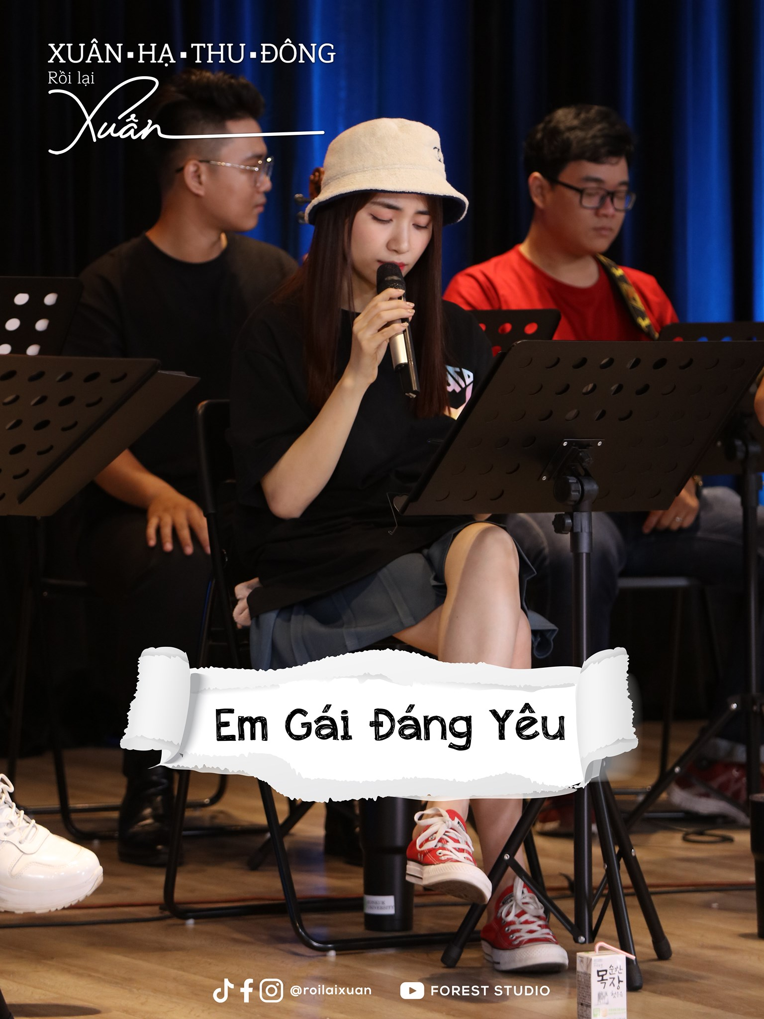 Hòa Minzy, Anh Tú và Hứa Kim Tuyền cùng dàn sao Vpop hát rong trong show âm nhạc đầu năm