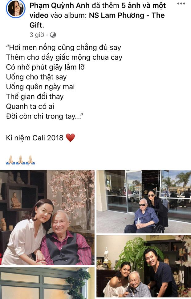 Tang lễ nhạc sĩ Lam Phương ở Mỹ: Người thân nghẹn ngào, NS Hoài Linh và Phạm Quỳnh Anh nói lời tiễn biệt từ Việt Nam