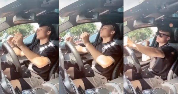 Quang Hải cho hai cô gái đi nhờ trên chiếc Merc đình đám một thời, netizen cà khịa: Nhớ đi thẳng