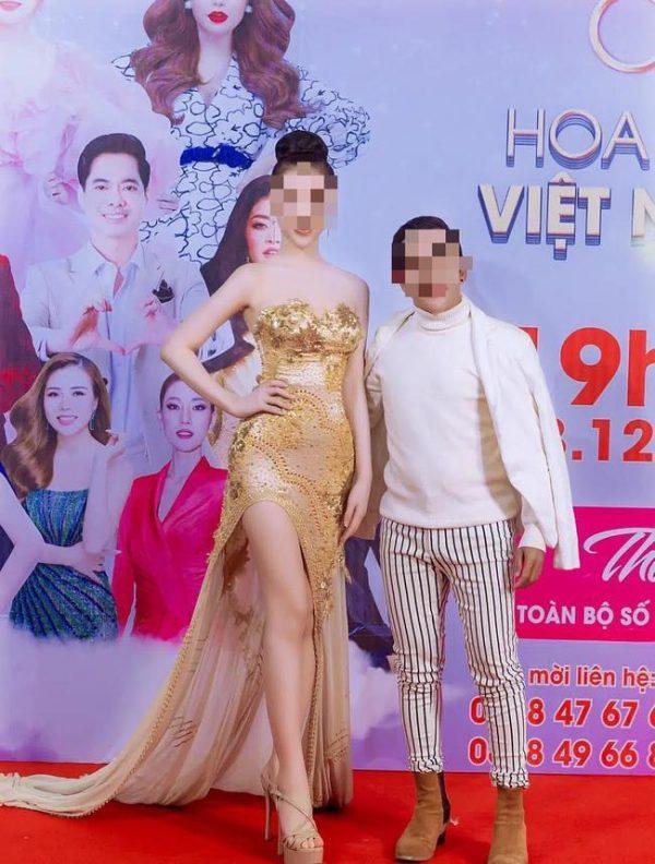 Cô gái tiểu tam trên phố Lý Nam Đế bất ngờ khoe ảnh tại cuộc thi hoa hậu